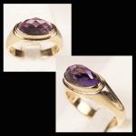 14KY Amethyst Ring