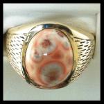 Custom 14KY Thomsonite Ring