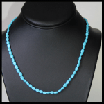 American Beauty Turquoise Bead Necklace