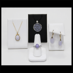 14K Lavendar Jade Jewelry