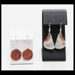 Sterling Lake Superior Agate Earrings
